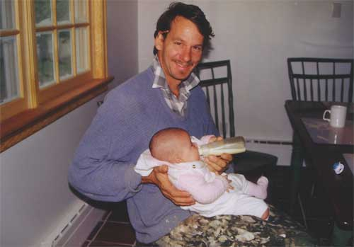 Yuki Baby With Charlie In Hudson Home Kitchen