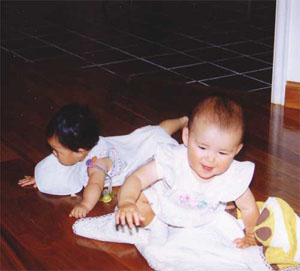 Yuki and cousin