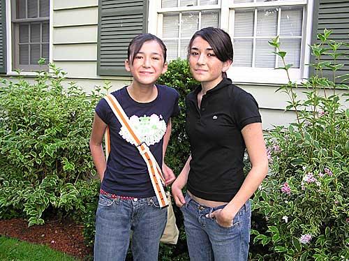Nori and Yuki in Hudson