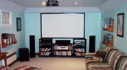 Hudson Home basement